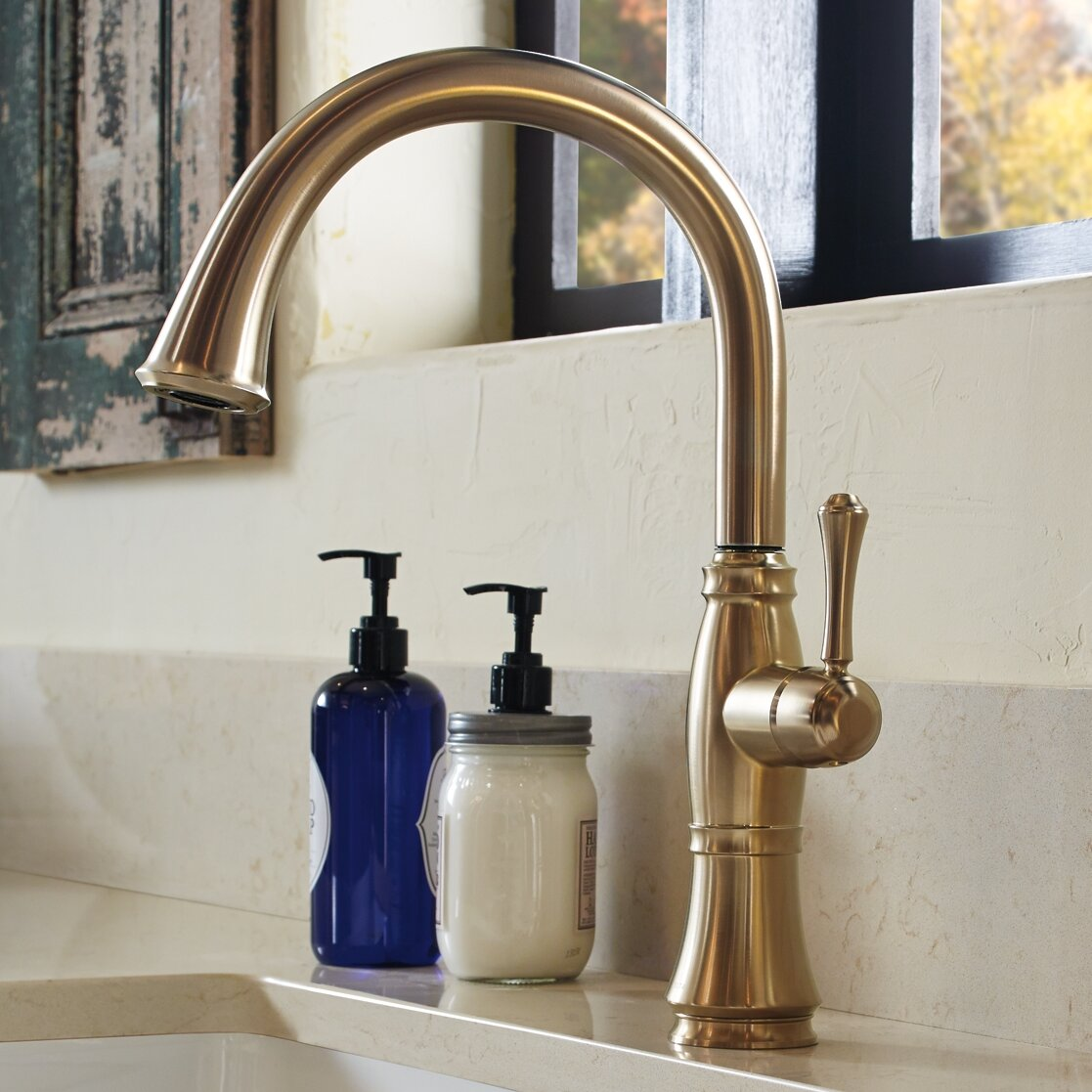 Stupendous Cassidy Single Handle Kitchen Faucet With Side Spray And Diamond Seal Technology Beutiful Home Inspiration Xortanetmahrainfo