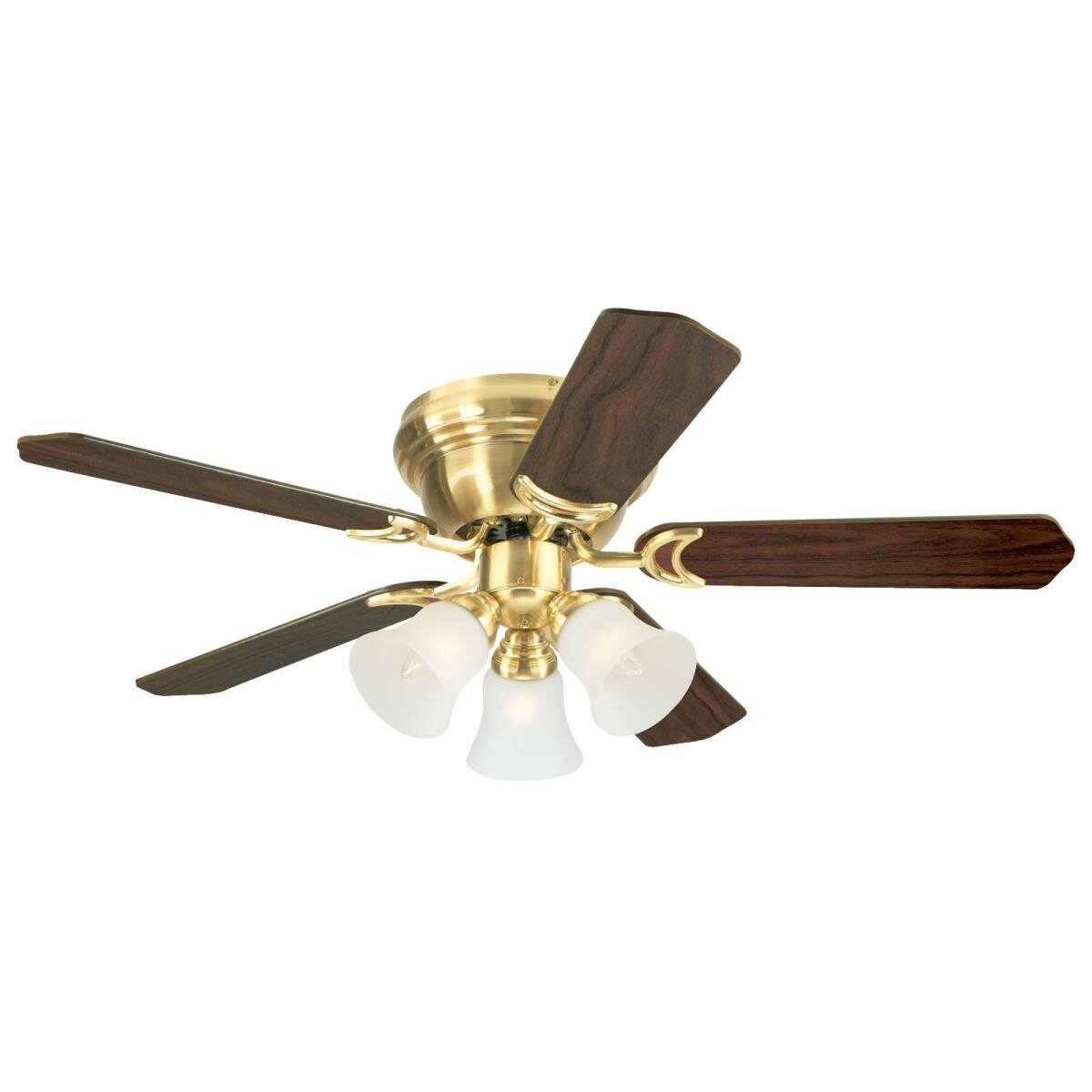 Charlton Home 42 Rosenblatt 5 Blade Standard Ceiling Fan With Pull Chain And Light Kit Included Reviews Wayfair