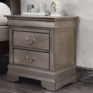 Lark Manor Lisle 2 Drawer Nightstand