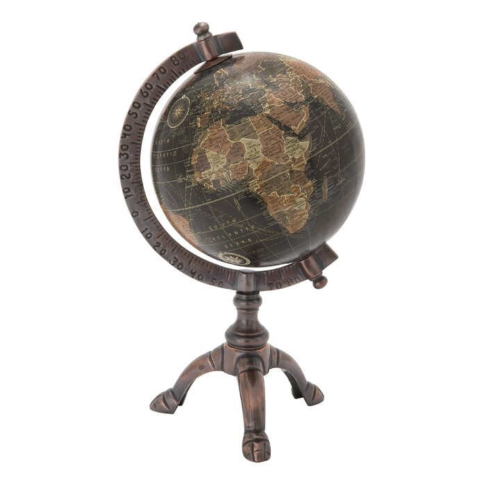 12 Political Tabletop Globe