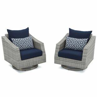 Wade Logan Castelli Motion Club Chair with Cushion (Set of 2)