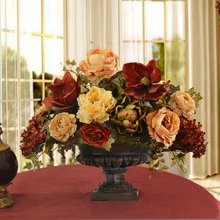 Mixed Centerpiece in Decorative Vase