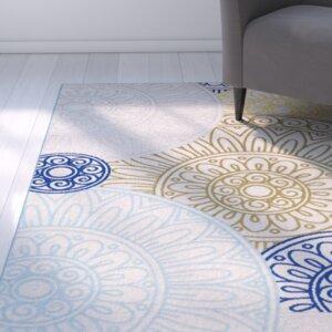 Dorinda Green/Blue Indoor/Outdoor Area Rug