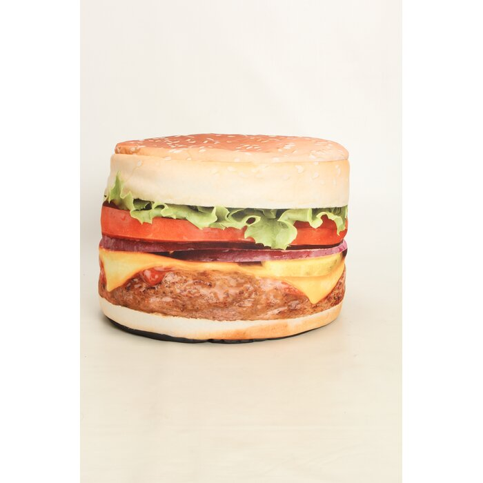 Brilliant Hamburger Small Bean Bag Chair Gmtry Best Dining Table And Chair Ideas Images Gmtryco