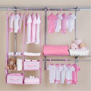 Bargain Deep Nursery Closet Organizer 24 Piece Set ByDelta Children