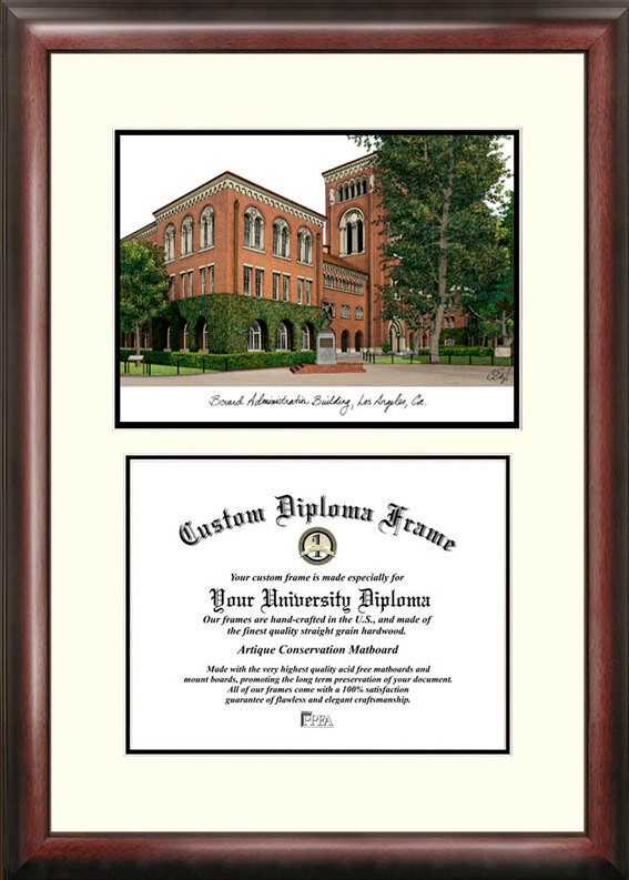 Campus Images Ncaa Usc Trojans Scholar Lithograph Diploma Frame Reviews Wayfair