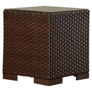 Brayden Studio Lorentzen Wicker Side Table