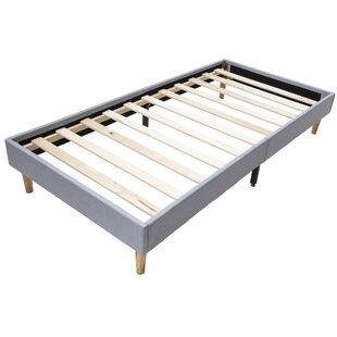 Eligah Upholstered Platform Bed With Mattress By Fjørde & Co