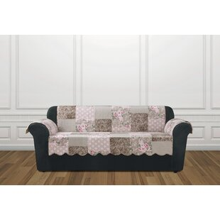 Heirloom Quilted Prewashed Cotton Sofa Slipcover by Sure Fit