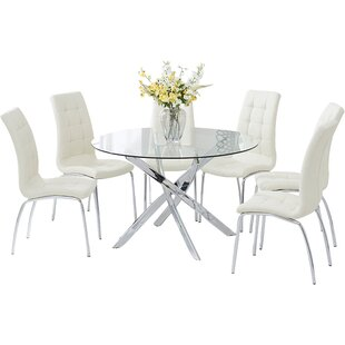 Crovetti Dining Set With 6 Chairs By 17 Stories