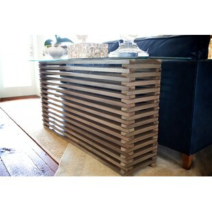 Review The Whiskey Plank Stacked Console Table By MacKenzie-Dow