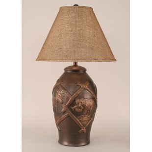 Rustic Living Wildlife Pot 31.5 Table Lamp
