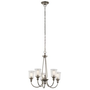 Marseilles 5-Light Shaded Chandelier by August Grove