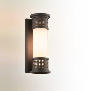 Best Price Lisson 1-Light Outdoor Sconce By Brayden Studio