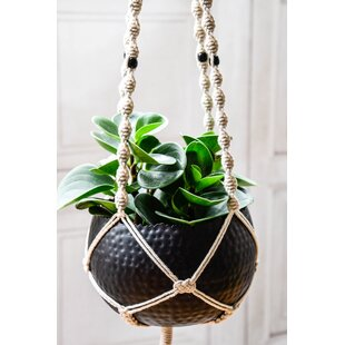 Bossley Metal Plant Pot By World Menagerie