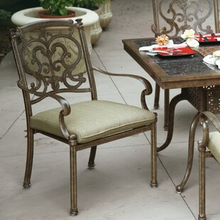 Bergen Stacking Patio Dining Chair with Cushion