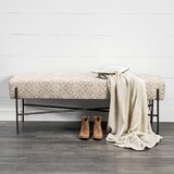 Sturtevant Upholstered Bench by Foundry Select