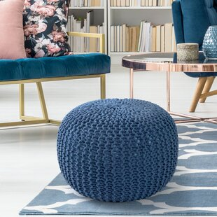 Aranda Sphere Pouf by Ebern Designs