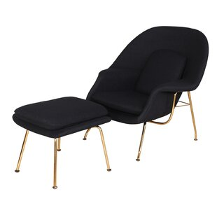 Orren Ellis Mineo Haven Lounge Chair and Ottoman