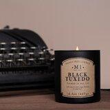 Classic Black Tuxedo Scented Jar Candle