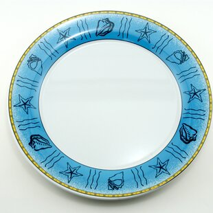 Decorated Melamine Offshore Non-skid Platter (Set of 2)
