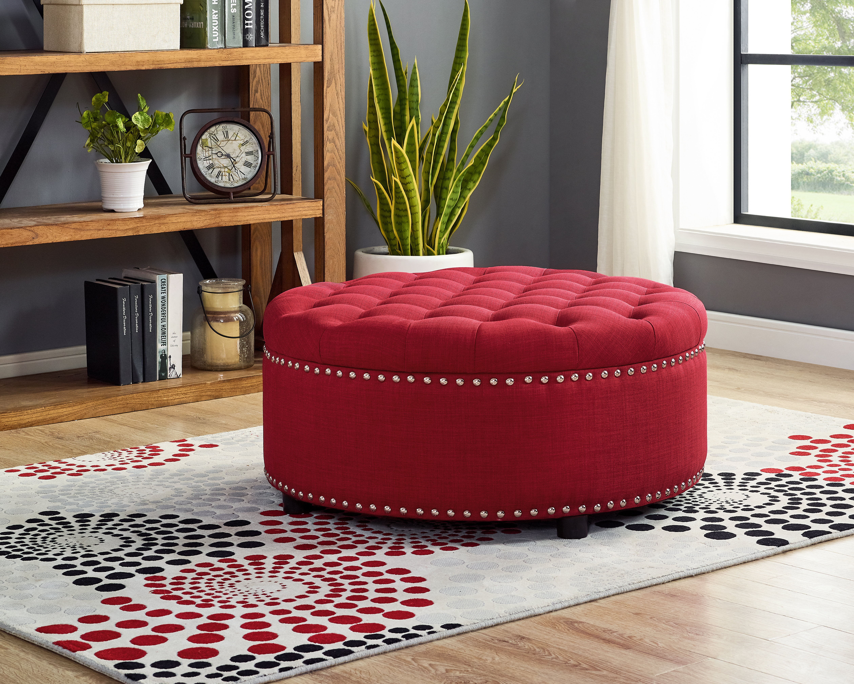 Sensational Camas Tufted Storage Ottoman Alphanode Cool Chair Designs And Ideas Alphanodeonline