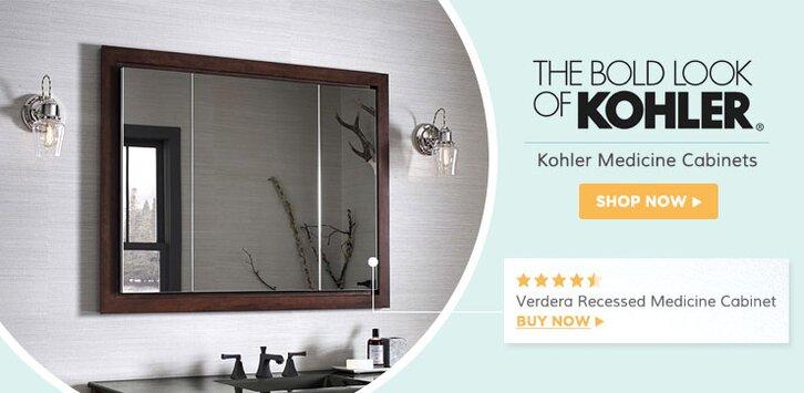 Kohler Bathroom Fixtures | Wayfair