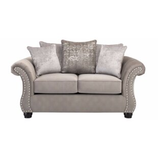 Bedingfield Contemporary Loveseat by House of Hampton Top Reviews