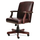 Olmstead Vinyl Executive Chair by Charlton Home