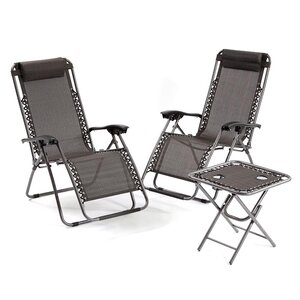 Zero Gravity 3 Piece Armchair Set