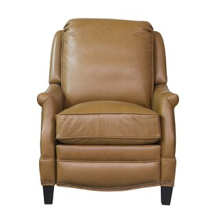 Eleanore Leather Manual Recliner by Darby Home Co No Copoun