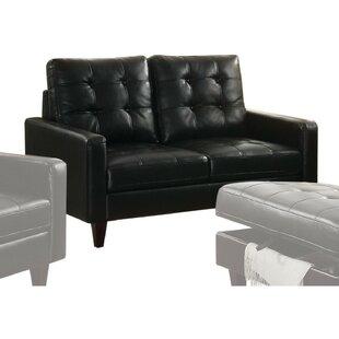Roiguez Upholstered Straight Armrest Gel Match Loveseat