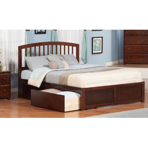 Timmy King Platform Bed with Drawer by Viv + Rae