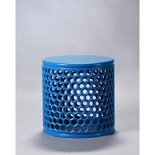 Beckstead Jali End Table by Bungalow Rose