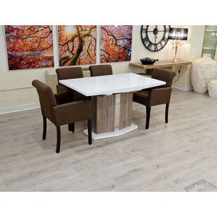 Galveston Extendable Dining Set With 6 Chairs By Ebern Designs