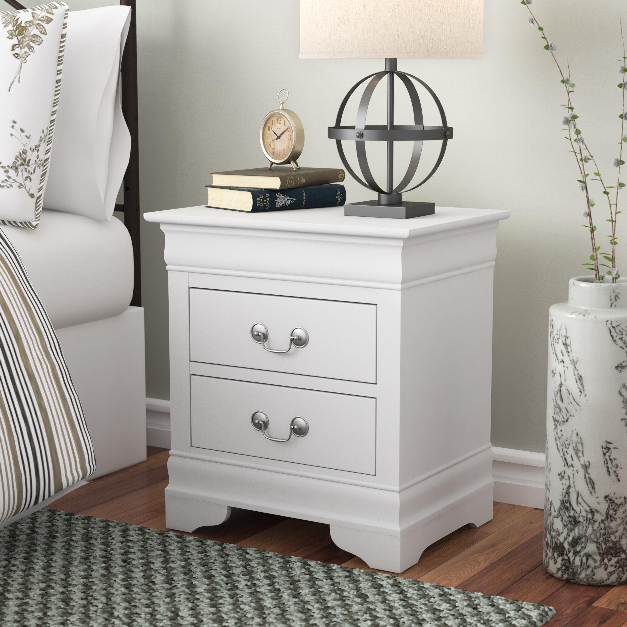 Lark manor lisle 2 drawer nightstand reviews wayfair