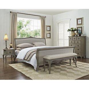 Amira Queen Sleigh 5 Piece Bedroom Set by One Allium Way Cool