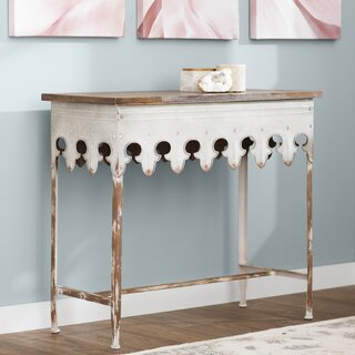 """Knowle 36"""" Solid Wood Console Table by Ophelia & Co. SKU:EA280185 Reviews"""