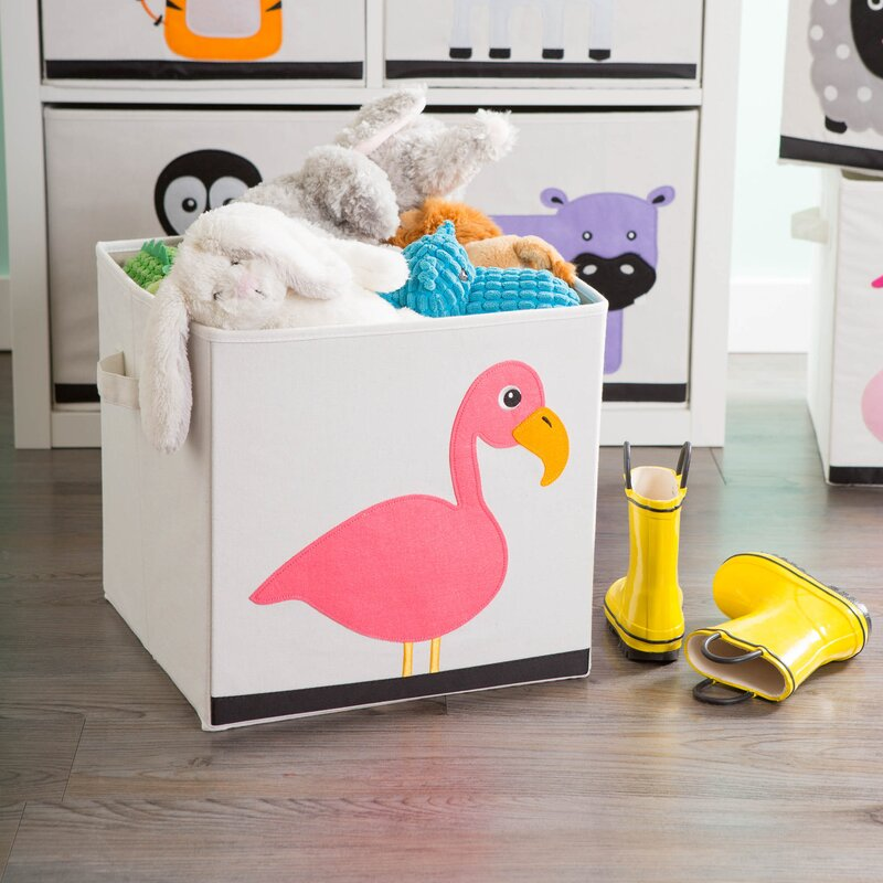 Isabelle Max Riordan Flamingo Toy Box Reviews Wayfair