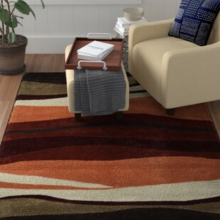 Price Check Allport Hand-Tufted Garnet/Orange Area Rug ByWinston Porter