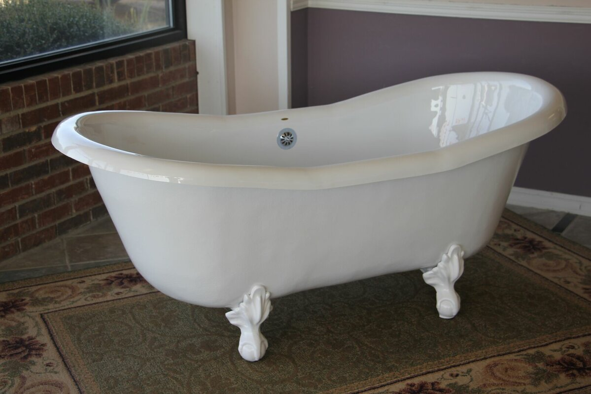 Clawfoot Tubs You\'ll Love | Wayfair