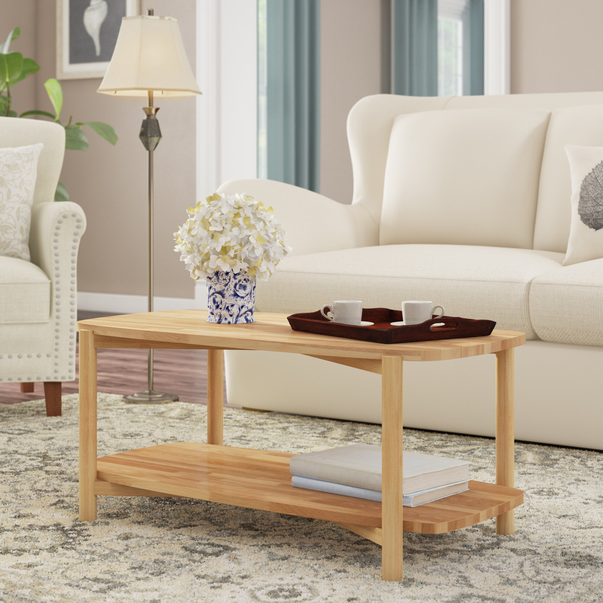 Solid Wood Winston Porter Coffee Tables You Ll Love In 2021 Wayfair