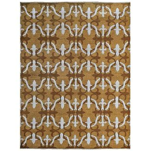 Rackers Sumak Geometric Beige White Area Rug By World Menagerie