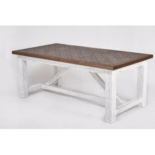 Breakwater Bay Shupe Solid Wood Dining Ta..