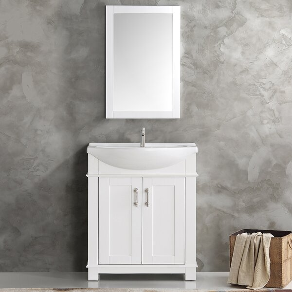 "Fresca Hartford 30"" Single Bathroom Vanity Set & Reviews ..."
