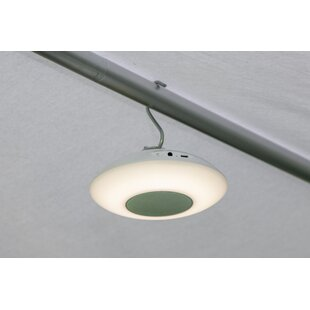 Ames White Plug-In Bluetooth LED Hanging Light By Freeport Park