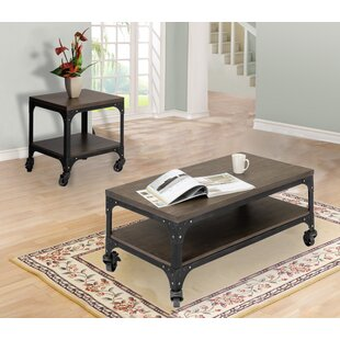 Augustus 2 Piece Coffee Table Set by 17 Stories
