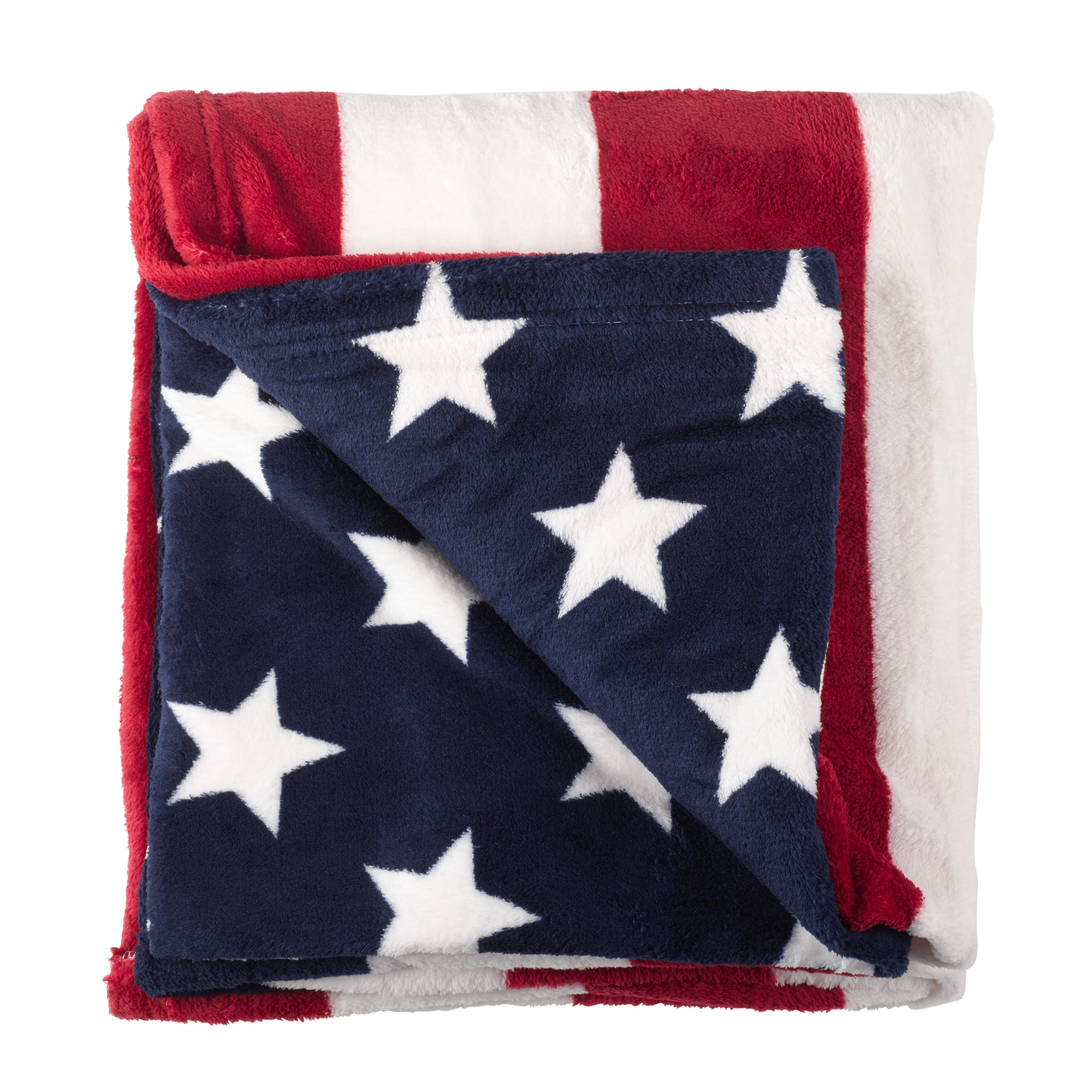 Winston Porter Tansey American Flag Stars And Stripes 4th Of July Blanket Reviews Wayfair