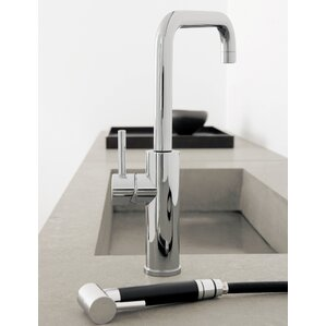 Maestro Bath Mitu Single Handle Deck Mounted Kitchen Faucet with Pull Out Side Sprayer