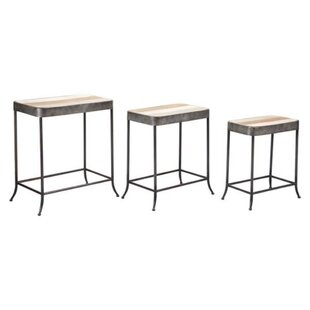Great Price Allie 3 Piece Coffee Table Sets (Set of 3) by 17 Stories
